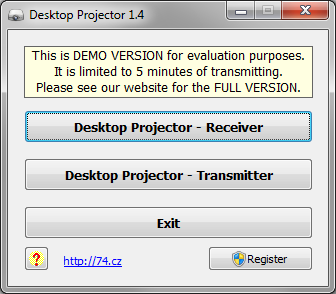 Click to view Desktop Projector screenshots